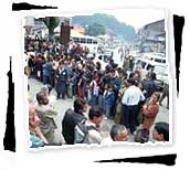 Crowd in Manali