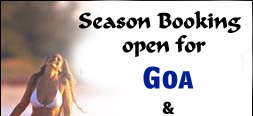 Season Booking open for Goa & Mumbai Hotel & Resorts