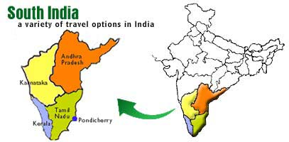 South India Map Images South India Map