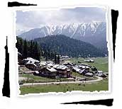 Village of Gulmarg, Kashmir